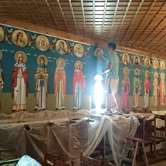 affreschi mondo bizantino 1