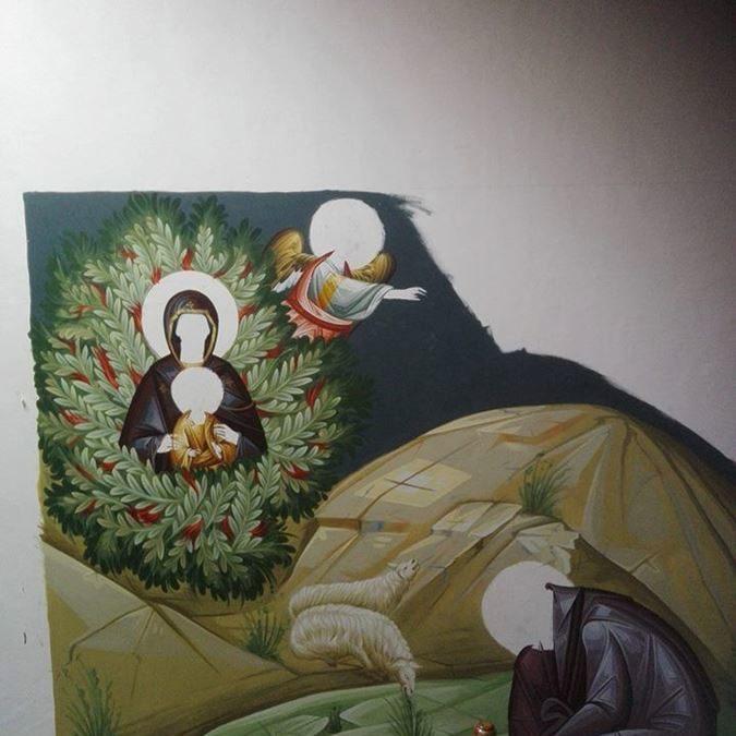 affreschi mondo bizantino 11