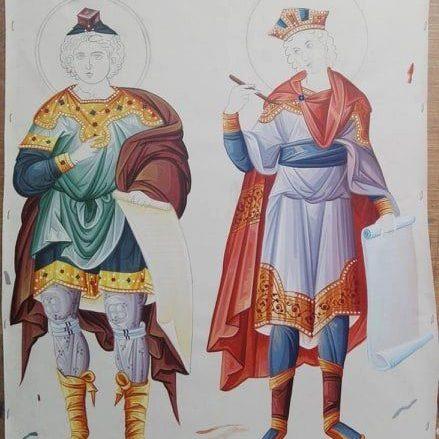 affreschi mondo bizantino 9