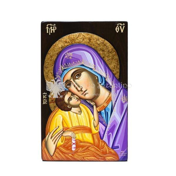 icona madonna della tenerezza capezzale