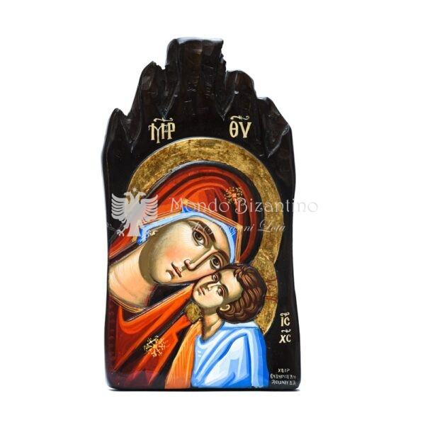 icona madonna della tenerezza dipinta a mano 1