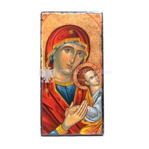 icona dipinta a mano madonna della tenerezza