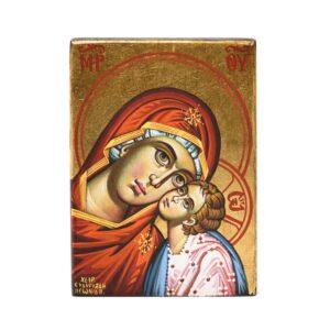 icona madonna della tenerezza dipinta 1 1