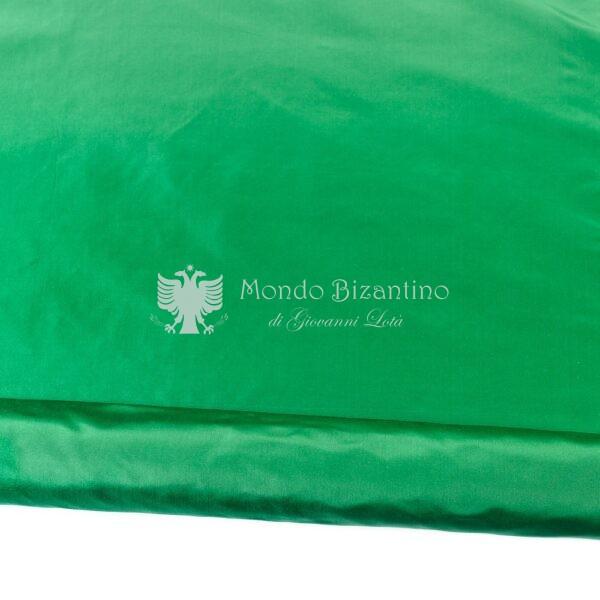 moella in pura seta verde piana