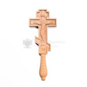 croce benedizionale in legno slava