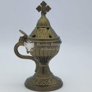 incensiere da appoggio oro antichizzato