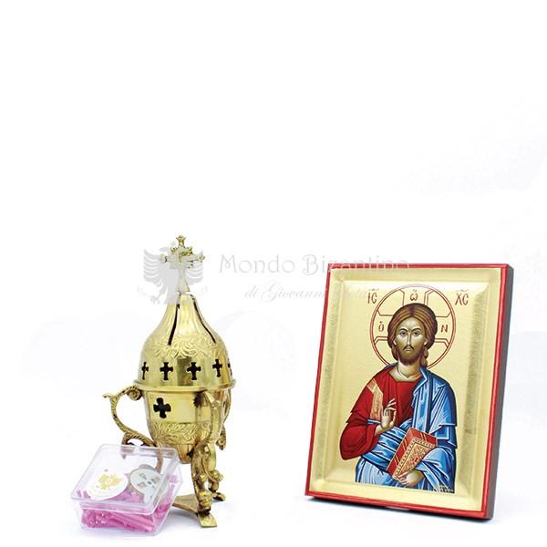 kit cristo con lampada da tavolo scaled 1
