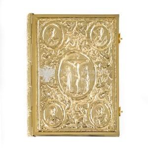 copri evangeliario dorato