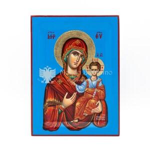 icona dipinta a mano madonna odigitria cm 30x22 1