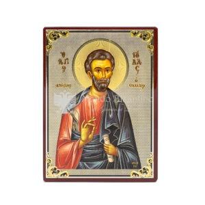 icona stampata su fondo lucido san giuda taddeo