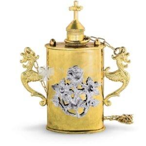 Mirotochiron in metallo dorato cod. 67 616