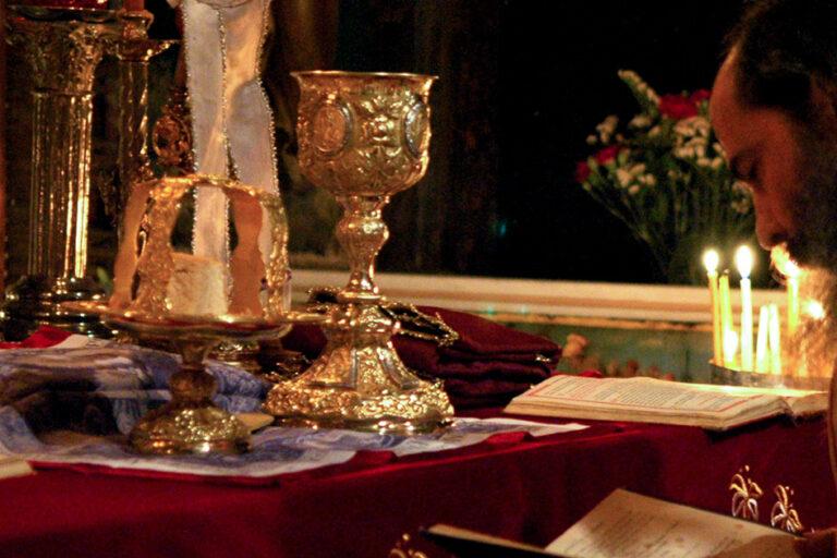 calice sacerdotale mondo bizantino