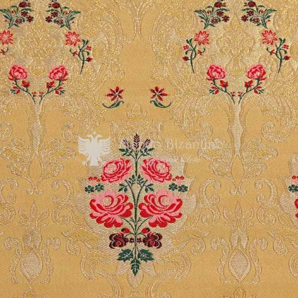 damasco venezia I 09 106 giallo fiori rossi