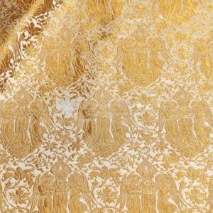 tessuto damascato I 69 101 bianco