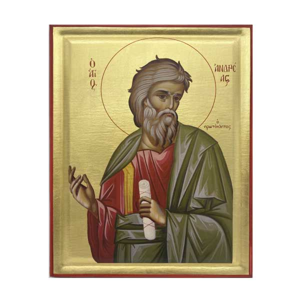 icona serigrafata san andrea apostolo