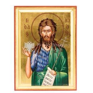 icona serigrafata san giovanni battista profeta e precursore