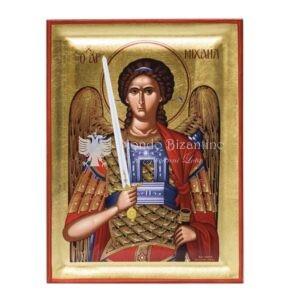 icona serigrafata san michele arcangelo