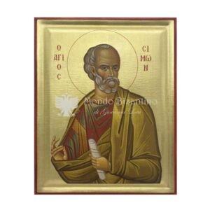 icona serigrafata san simone apostolo