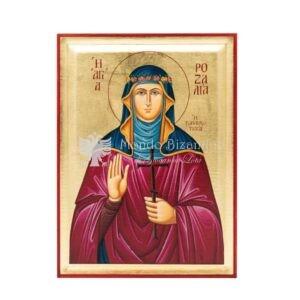 icona serigrafata santa rosalia vergine